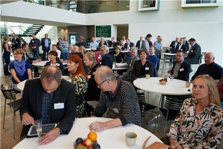 Ca. 80 personer havde tilmeldt sig Green Networks 20 års jubilæums arrangement