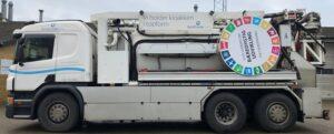 Bucher Municipal slamsuger med Verdensmålene påsat